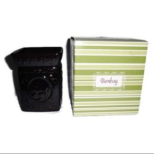 New Scentsy Bombay Wax Warmer Brown